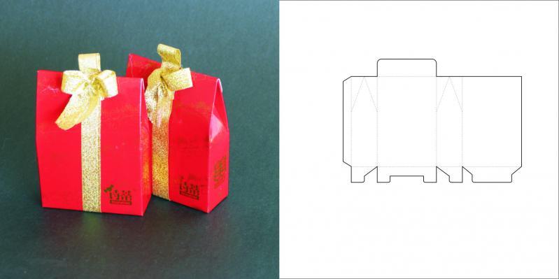 Маленькая упаковка для подарка 65